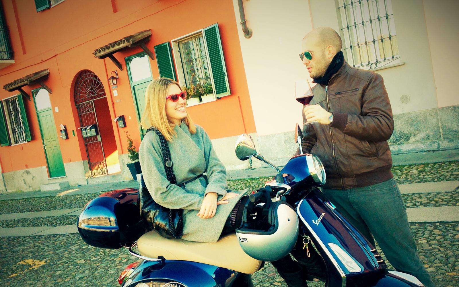 Tour in Vespa per due persone