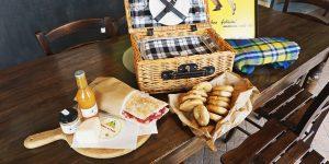 un picnic sulle colline dell'Oltrepò