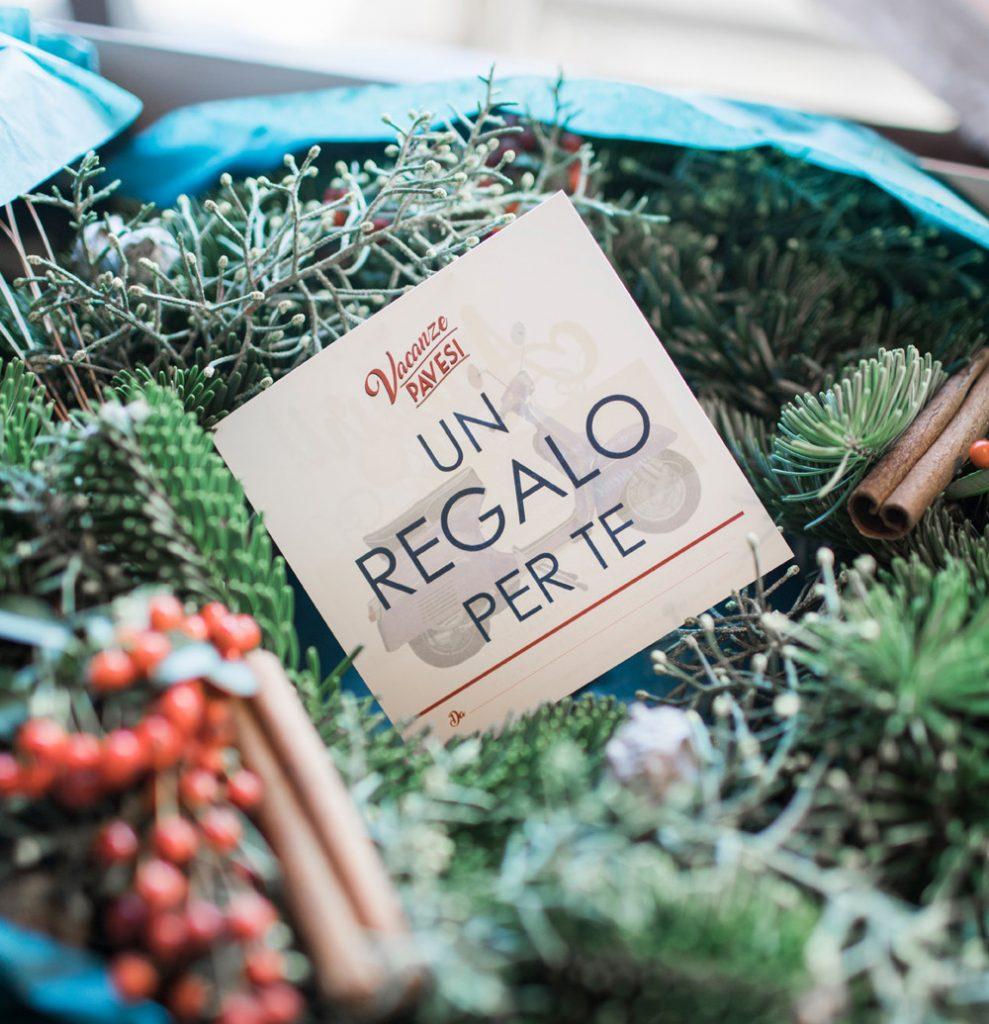 Un cofanetto regalo per un'esperienza in Vespa